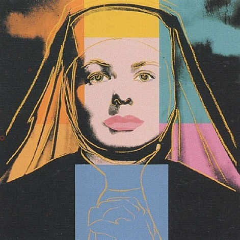 ingrid bergman - herself [ii.314] by andy warhol